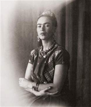 """Nickolas Muray (1895-1965) """"Frida Icon, ca. 1939"""""""