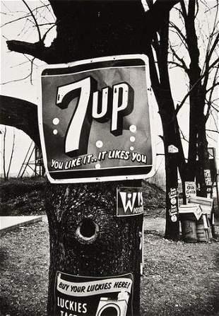 """William Klein (b.1928) """"7-Up, New York, 1954"""""""