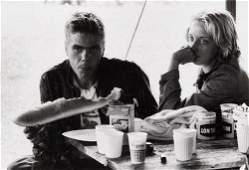 """413: Danny Lyon (b. 1942) """"Ronnie and Cheri, La Porte,"""