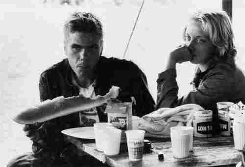 """Danny Lyon (b. 1942) """"Ronnie and Cheri, La Porte,"""