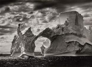 """Sebastião Salgado (b. 1944) """"Iceberg between Paule"""