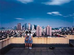 """Weng Fen (Weng Peijun) (b. 1961) """"Birds Eye View, S"""