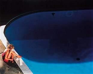 """David Drebin (b. 1970) """"Trisha by the Pool, 2003"""""""