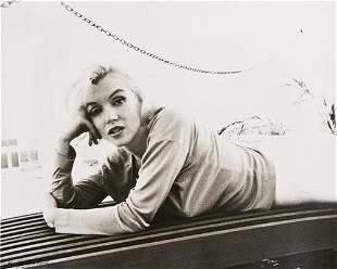 "George Barris (b. 1922) ""Marilyn Monroe (Lying on"