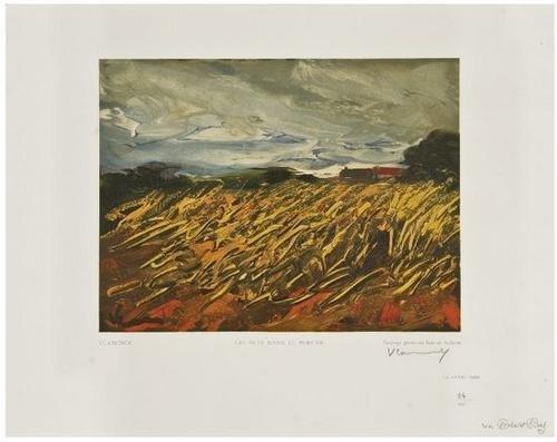 11: Maurice de Vlaminck (1876-1958) Les Bles Dans Le P