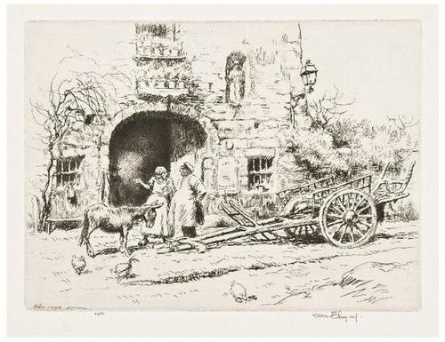 13: Kerr Eby (1889-1946) Ten prints