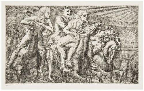 19: Reginald Marsh (1898-1954) Thirty Etchings and Eng