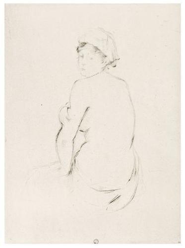 20: Berthe Morisot (1841-1895) Fille au Chat and Nu de