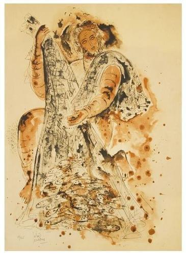 22A: Reuven Rubin (1893-1974) Untitled