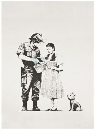 41: Banksy (b.1975) Stop and Search