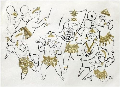 210: Andy Warhol (1928-1987) Angels Orchestra