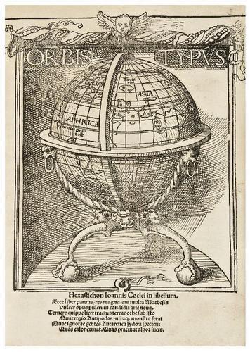 3: SCHOENER, Johann (1477-1547).