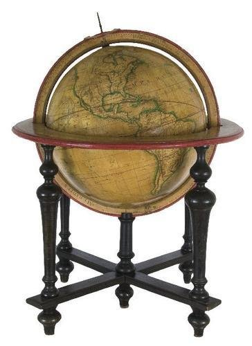 5: GLOBE - DELAMARCHE, C.F. Globe Terrestre; Rédigé a