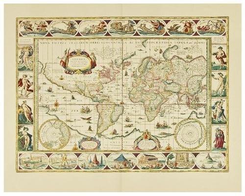 7: BLAEU, Johan (1596-1673). Le Grand Atlas ou Cosmog