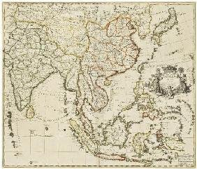 13: SENEX, John (1678-1840). A New Map of India &