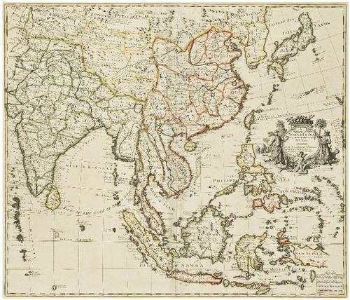 13: SENEX, John (1678-1840). A New Map of India &