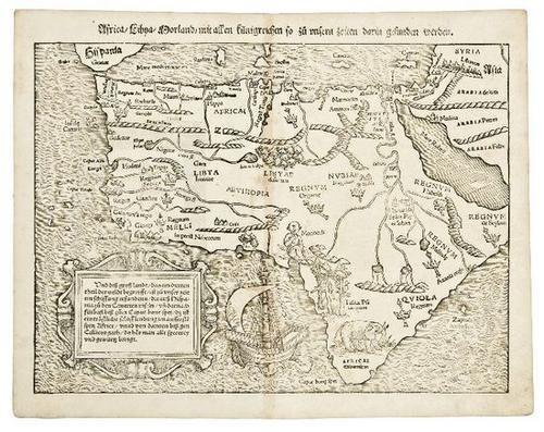 21: EUROPE -  MUNSTER, Sebastian. (1489-1552) Moderna