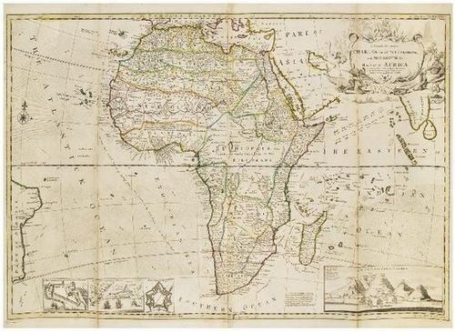 22: MOLL, Herman (d. 1732) Africa