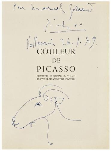 505: [ART] -- Pablo PICASSO. Original illustration on t