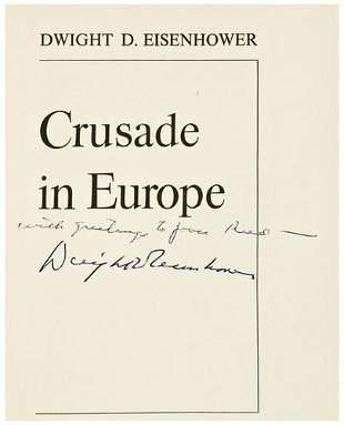 [AMERICANA] - Dwight D. EISENHOWER. Crusade in Eur