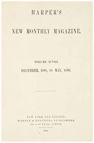 [AMERICANA] - Harper's Magazine. Collection of cir
