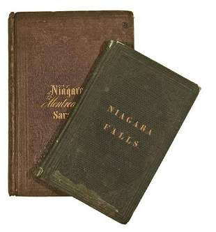 [AMERICANA] NIAGARA FALLS. Two titles.