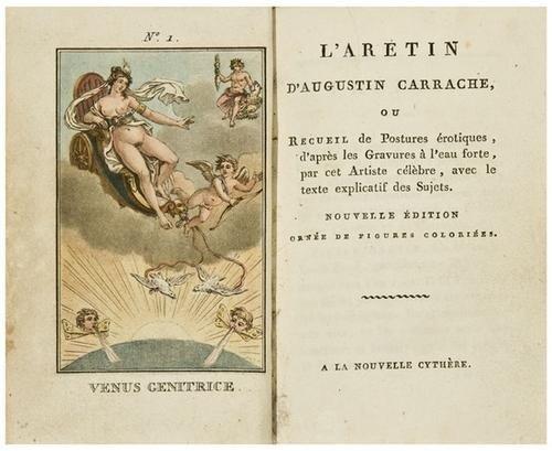 166: [EROTICA] - 18th Century L'Aretin D'Augustin Carra