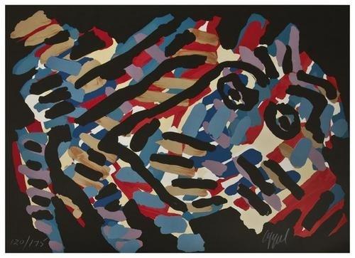 2: Karel Appel (1921-2006) Untitled