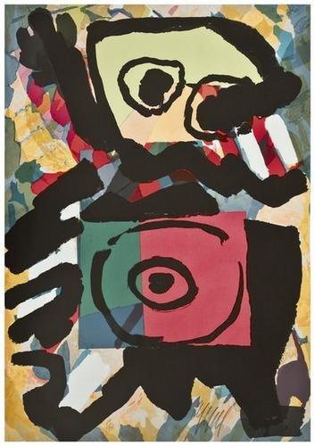 3: Karel Appel (1921-2006) Untitled