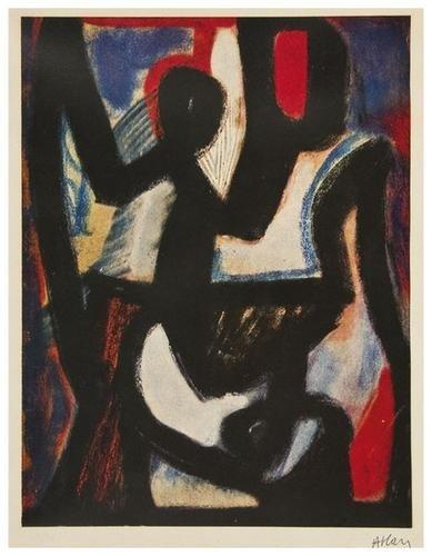 8: Jean-Michel Atlan (1913-1960) Composition
