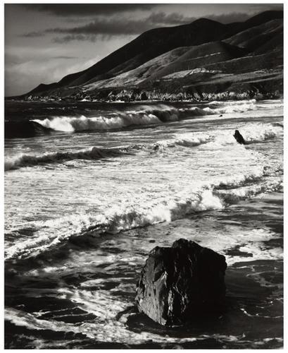 9: Morley Baer (b. 1916) Untitled (Shoreline), ca. 19