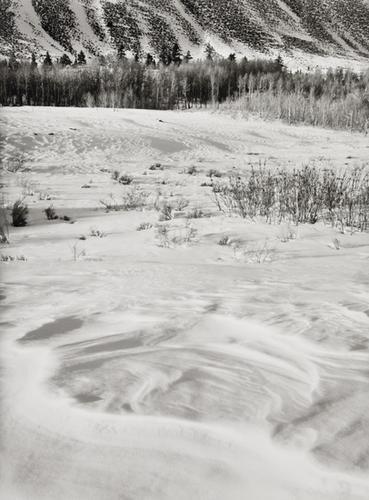 12: Bruce Barnbaum (b. 1943) Snow Pattern and Slopes,