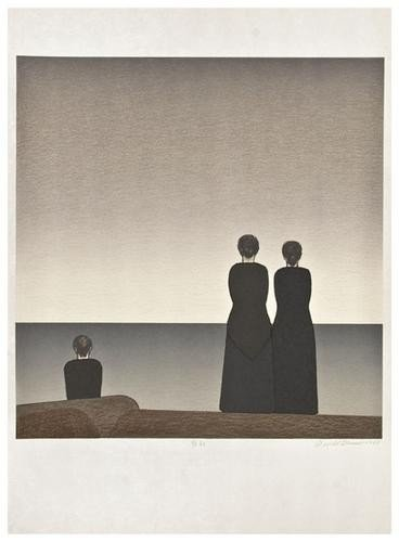 16: Will Barnet (b. 1911) Three women