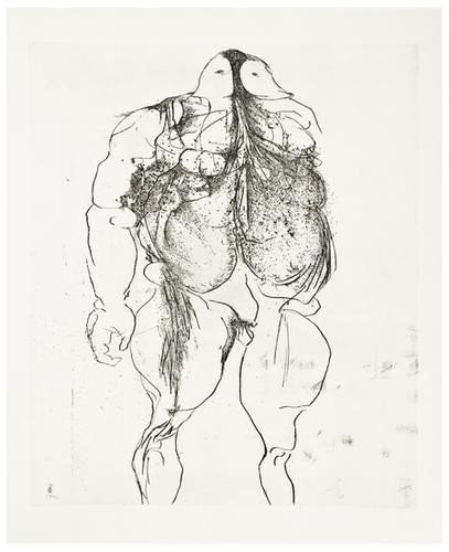 18: Leonard Baskin (1922-2000) Drawings for the Iliad