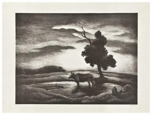19: Thomas Hart Benton (1889 - 1975) Sunset