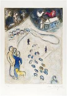 33: Marc Chagall (1887-1985) Hiver (M.333)
