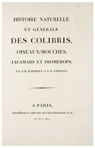 2: AUDEBERT, Jean Baptiste (1759-1800) and Louis Jean