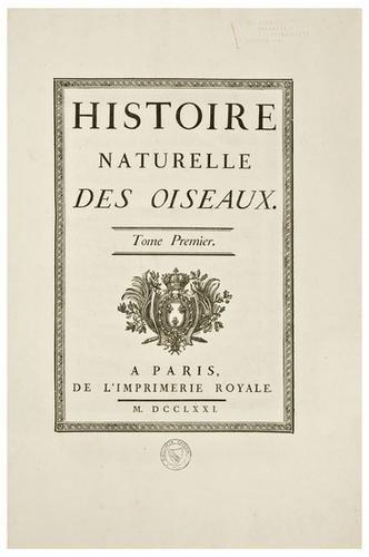 16: BUFFON, George-Louis-Marie Le Clerc, Comte de Hist