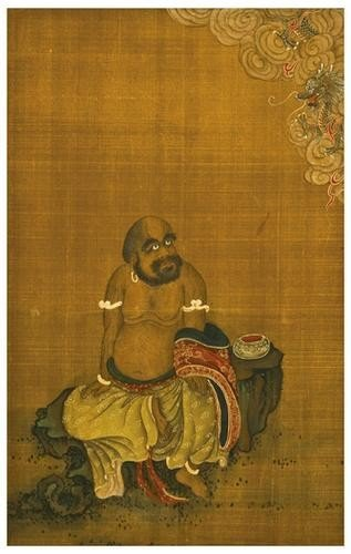 118: BUDDHIST LOHANS. A Collection of eight watercolors