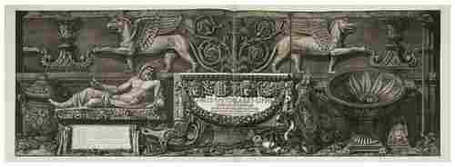 165: PIRANESI, Giovanni Baptista (1720-1778) Vasi, Cand