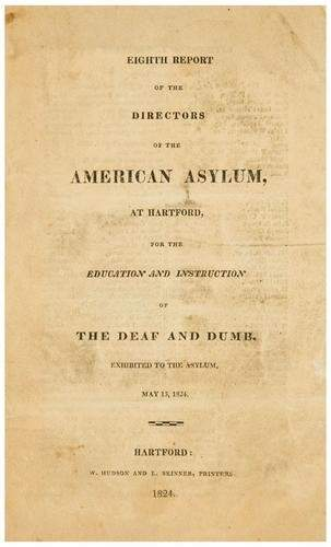 AMERICAN ASYLUM Eighth Report of the directors of
