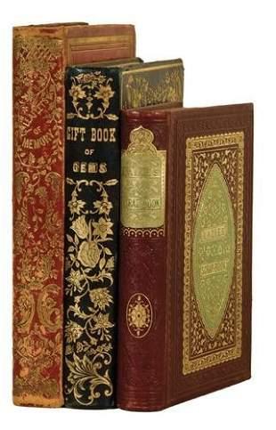 BINDINGS - Gift Books A group of three