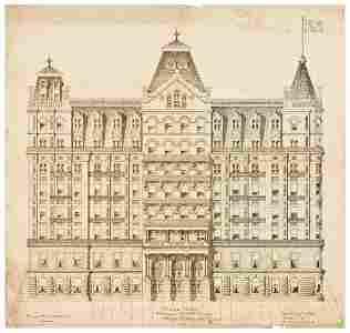 213: PLAZA HOTEL - George Da CUNHA (architect) Original