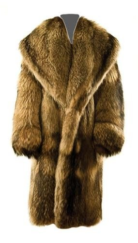 3: GOREY, Edward (1925 - 2000) Fur Coat owned and wor