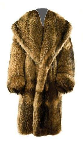 GOREY, Edward (1925 - 2000) Fur Coat owned and wor