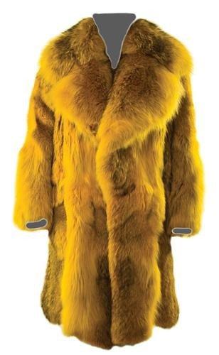 4: GOREY, Edward (1925 - 2000) Fur Coat owned and wor