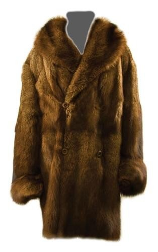 6: GOREY, Edward (1925 - 2000) Fur Coat owned and wor