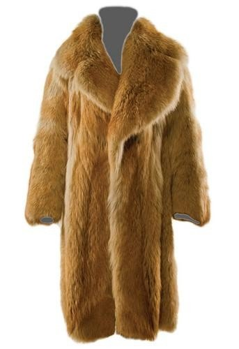 9: GOREY, Edward (1925 - 2000) Fur Coat owned and wor