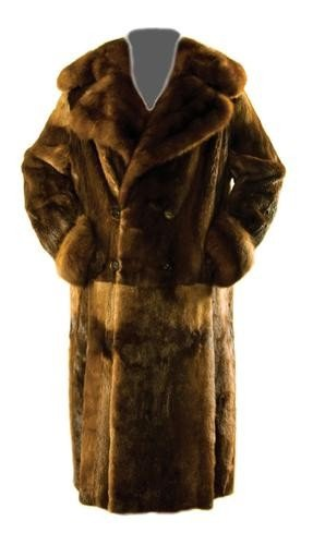 10: GOREY, Edward (1925 - 2000) Fur Coat owned and wor