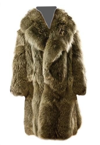 12: GOREY, Edward (1925 - 2000) Fur Coat owned and wor